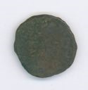 Image of Byzantine Bronze Coin of Tarsus Issued by Constantine