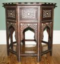 Image of Octagonal Tabouret with Bone or Ivory Inlay