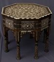 Image of Octagonal Inlaid Tabouret