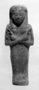 Image of Egyptian Painted Faience Ushabti (Funerary Sculpture)
