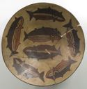 Image of Bowl with Fish Imagery