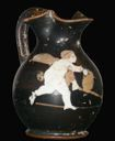 Image of Attic Black Ground Chous (Jug)