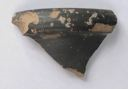 Image of Etruscan-Campanian Black-Gloss Cup (?) Rim Fragment