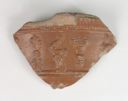 Image of Roman Arretine Terra Sigillata Bowl Body Sherd with Figural Decoration in Relief