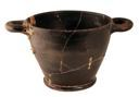 Image of Attic Black-Gloss Skyphos (Cup)