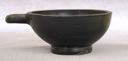Image of South Italian Black-Gloss One-Handler (Cup or Bowl)