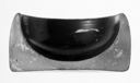 Image of Attic Black-Gloss Salt Cellar (Bowl)
