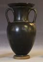 Image of Attic Black-Gloss Neck-Amphora (Storage Vessel)