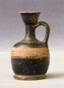 Image of Attic Black-Gloss Squat Lekythos (Oil Bottle)