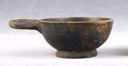 Image of Attic-Style Black-Gloss One-Handler (Cup or Bowl)