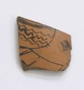 Image of Attic Red-Figure Amphora (Storage Vessel) Fragment