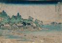 Image of Enoshima in Sagami Province (Sôshû Enoshima), from the series Thirty-six Views of Mount Fuji (Fugaku sanjûrokkei)