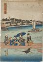 Image of On the Sumida River. From the Series of Famous Places in the Eastern Capital