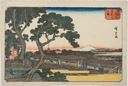 Image of View of Matsuchiyama (Matsuchiyama no zu), from the series Famous Places in the Eastern Capital (Tôto meisho)
