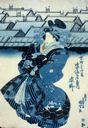 Image of Courtesan Sugatano, at Sugata-Ebiya, Kyomachi
