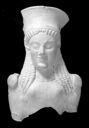Image of Terracotta Female Head and Torso