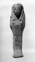 Image of Egyptian Painted Terracotta Ushabti (Funerary Sculpture)