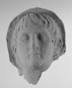 Image of Etruscan Terracotta Veiled Head of a Youth