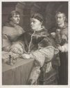 Image of Pope Leo X with Two Cardinals