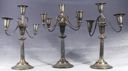 Image of Set of Silver Candelabra