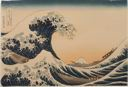 Image of Under the Wave off Kanagawa (Kanagawa-oki nami-ura), also known as the Great Wave, from the series Thirty-six Views of Mount Fuji (Fugaku sanjûrokkei)