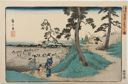 Image of Listening to Crickets at Dôkan Hill (Dôkan-yama mushi-kiki no zu), from the series Famous Places in the Eastern Capital (Tôto meisho)