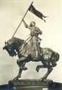 Image of Joan of Arc on Horseback